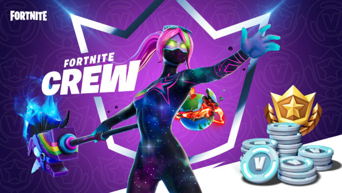 Fortnite Crew: Monthly subscriptions are coming in December