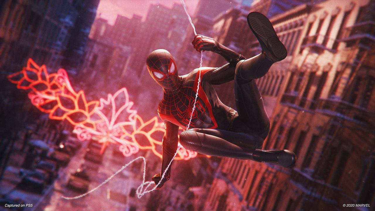 Une vidéo PS5 divulguée montre Spider-Man: Miles Morales se charge en sept secondes