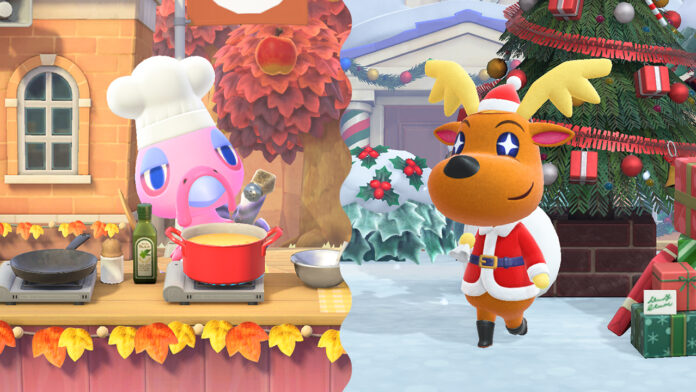 Animal Crossing New Horizons Winter Update (2020)