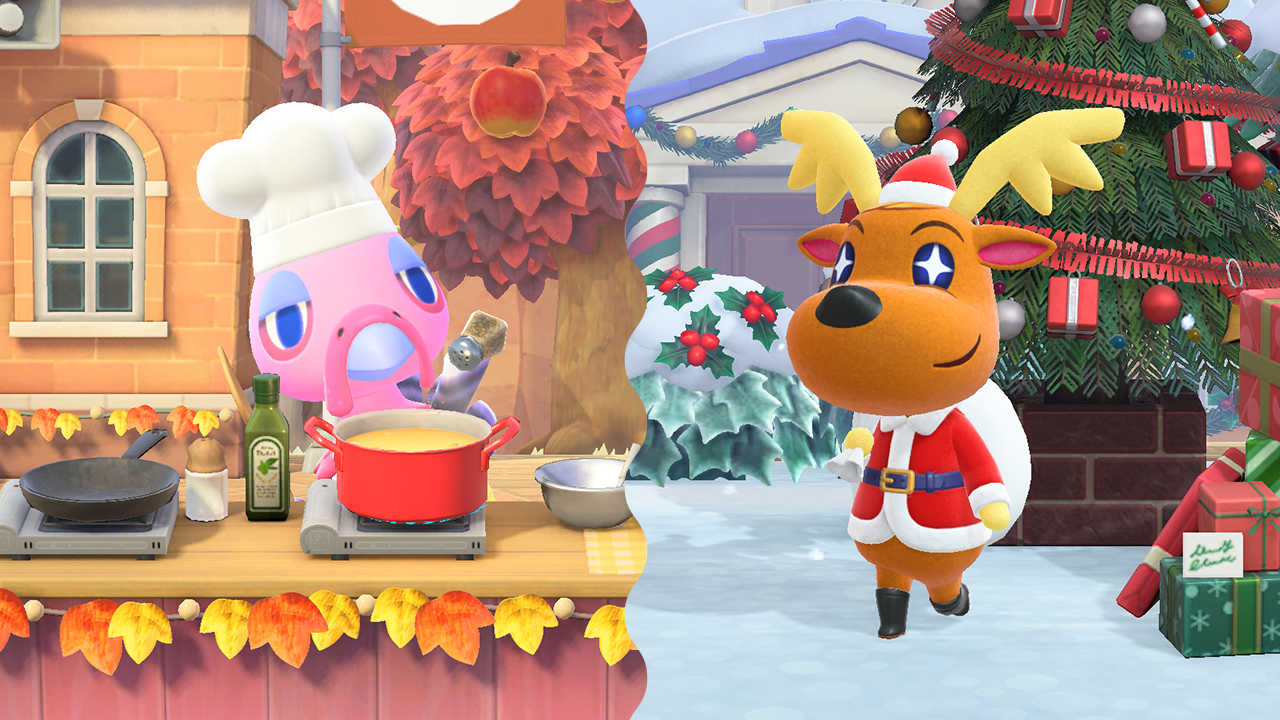 Mise à jour hivernale d'Animal Crossing New Horizons (2020)