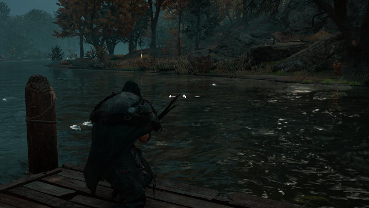 Où attraper des anguilles dans Assassin's Creed Valhalla