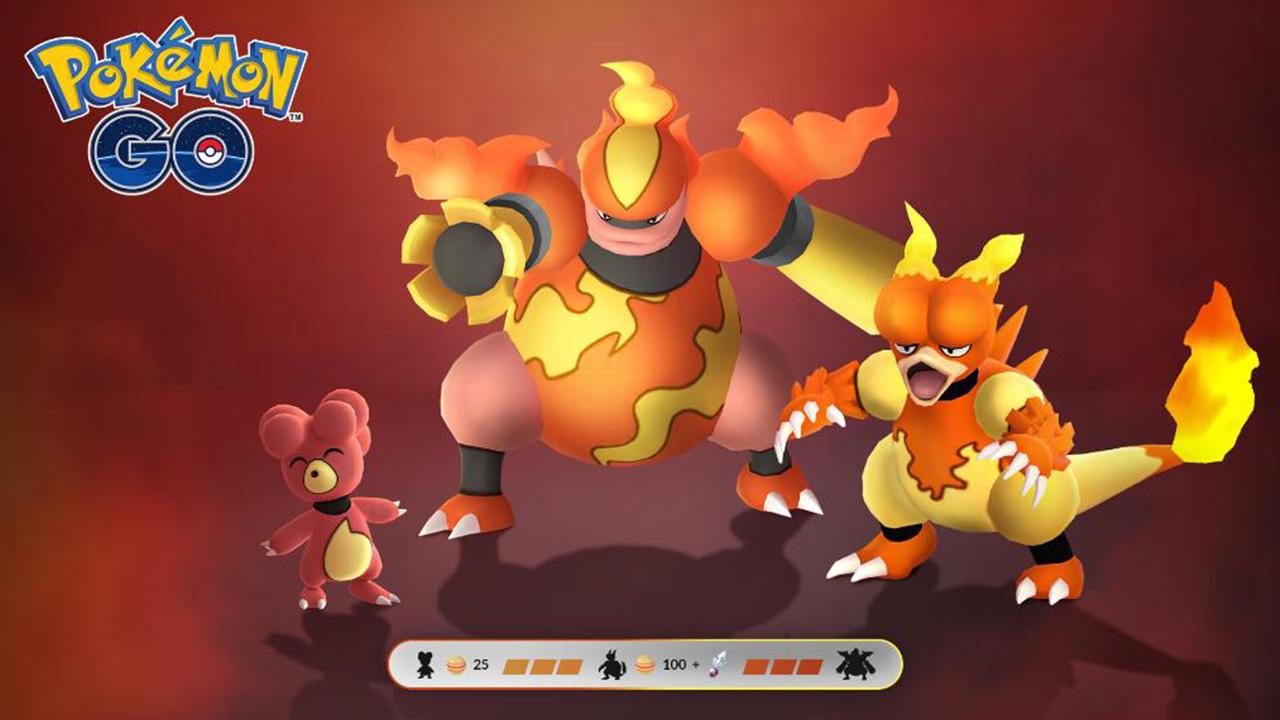 Pokemon GO: pas de match pour les tâches de recherche et les récompenses de Magmar