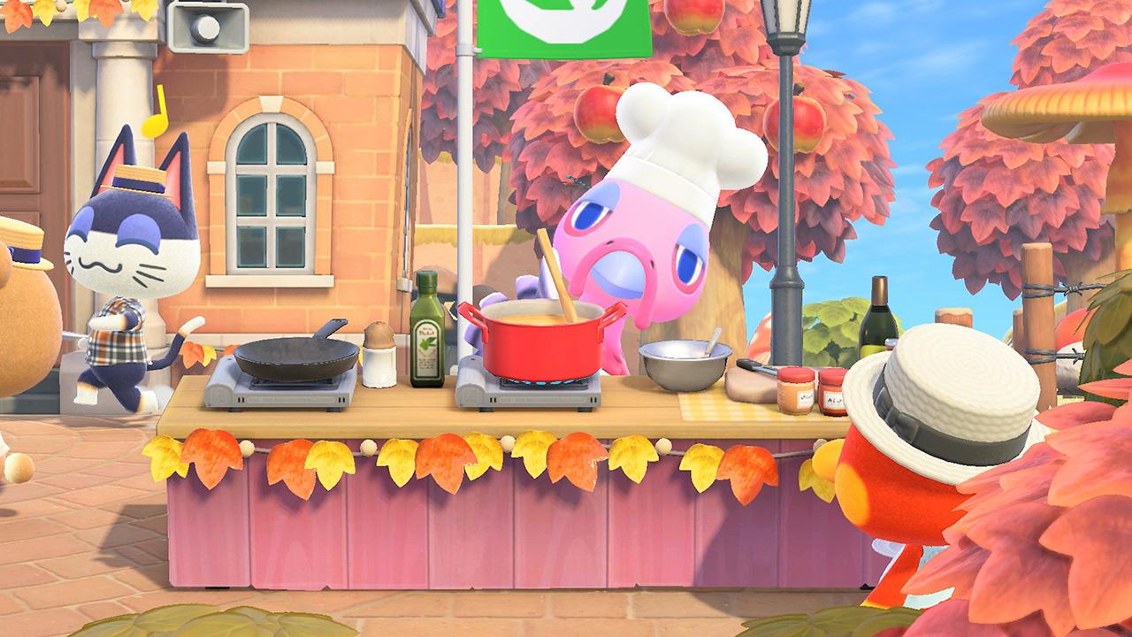 Recettes et ingrédients du jour de la dinde dans Animal Crossing New Horizons