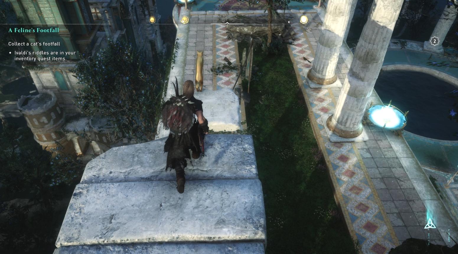 Comment récupérer les pas d'un chat dans Assassin's Creed Valhalla - Cat Location 2