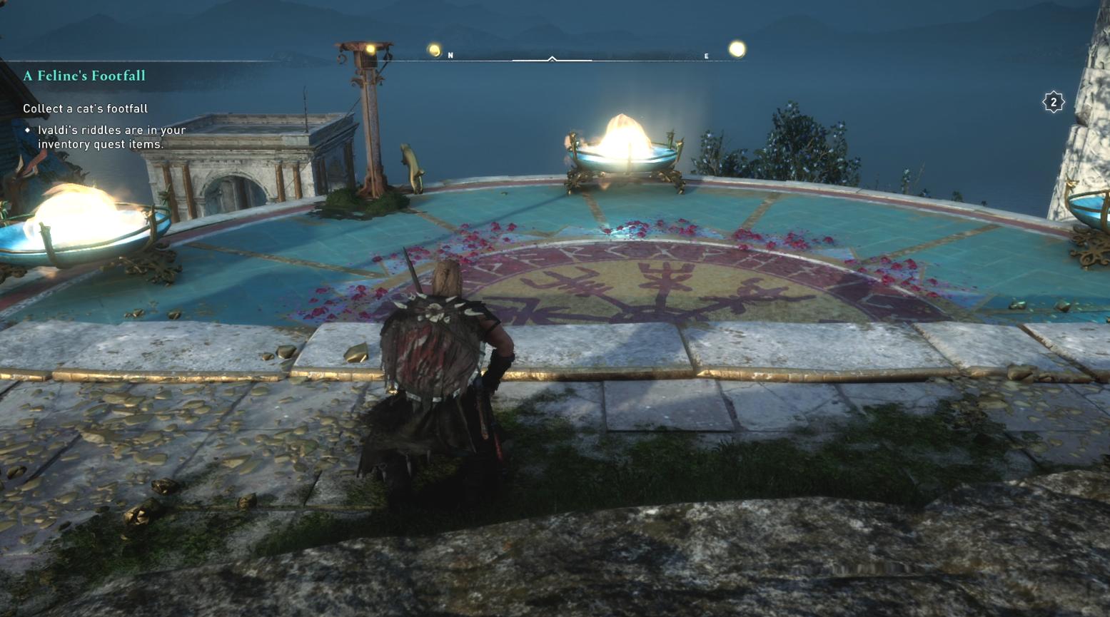 Comment récupérer les pas d'un chat dans Assassin's Creed Valhalla - Cat Location 4