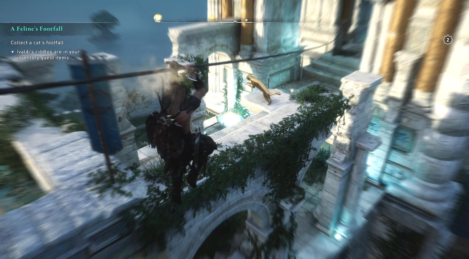 Comment collecter les pas d'un chat dans Assassin's Creed Valhalla - Cat Location 5 et 6