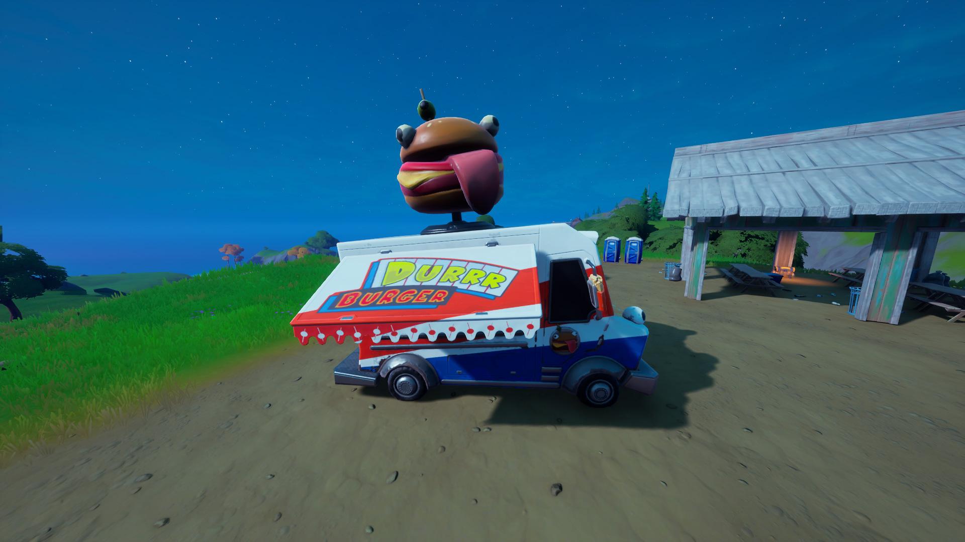 Durr Burger Food Truck Location Fortnite Chapter 2 Saison 5