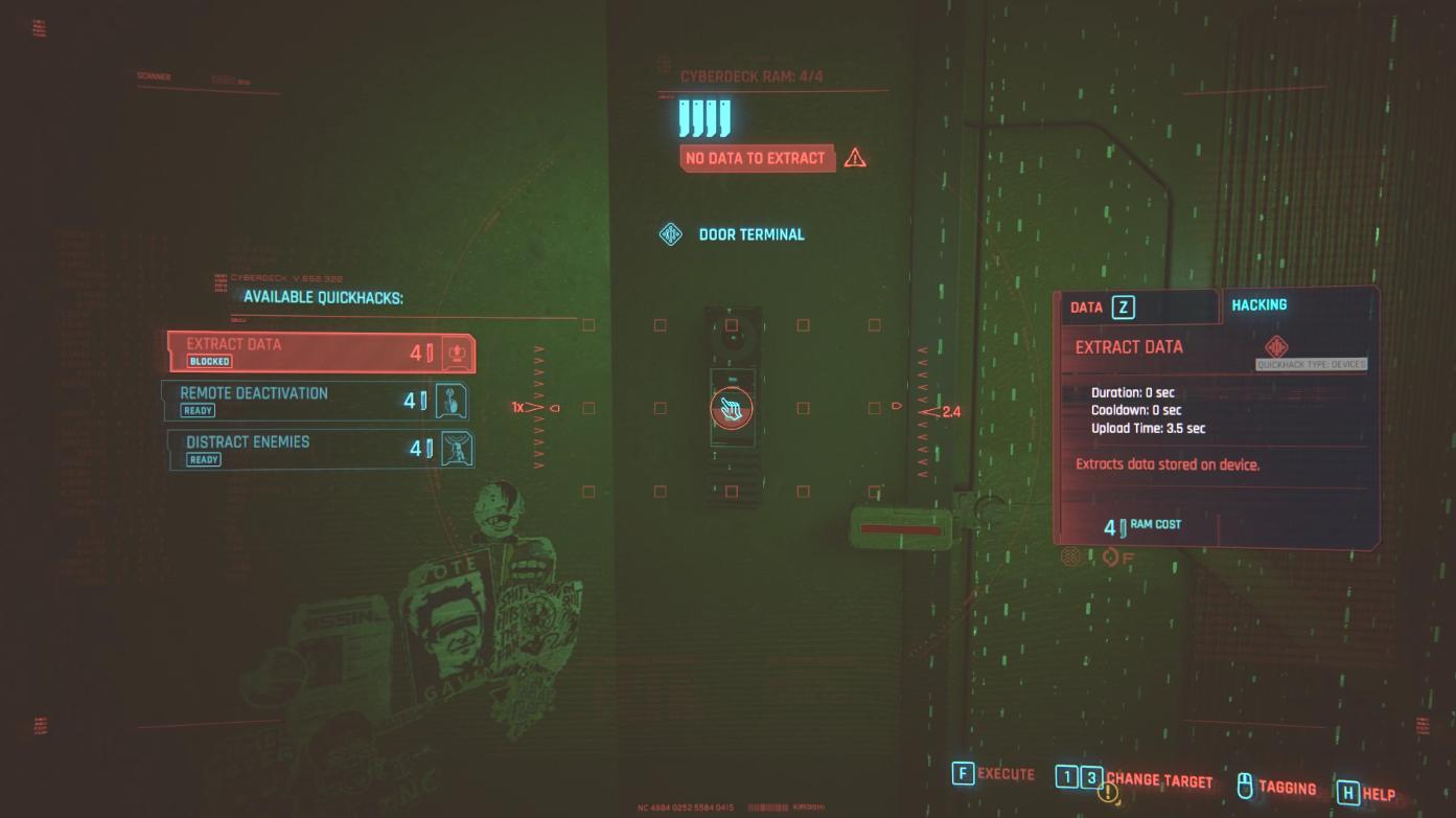 Cyberpunk 2077 Hack Door