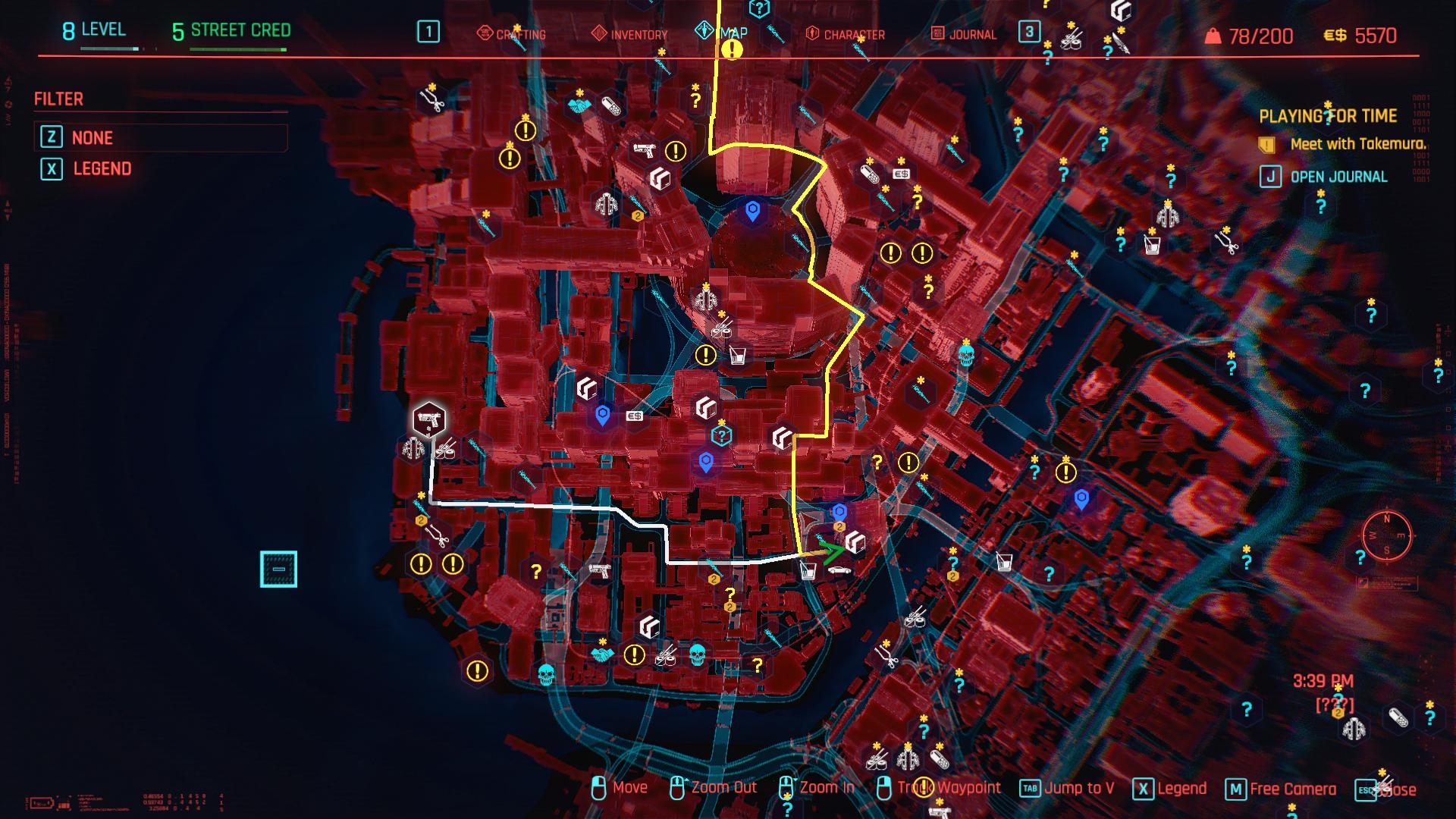 Acheter des munitions dans les magasins d'armes dans Cyberpunk 2077