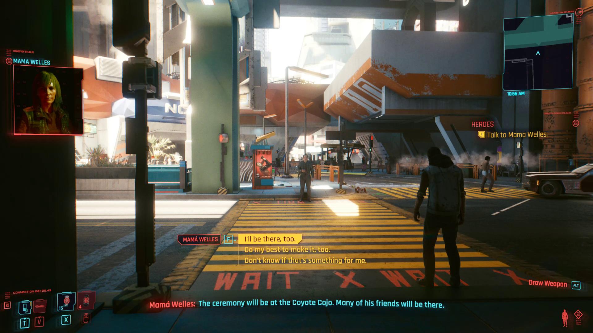 Cyberpunk 2077 Mama Welles