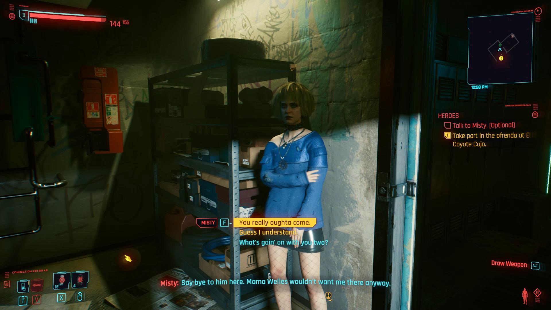 Cyberpunk 2077 Misty