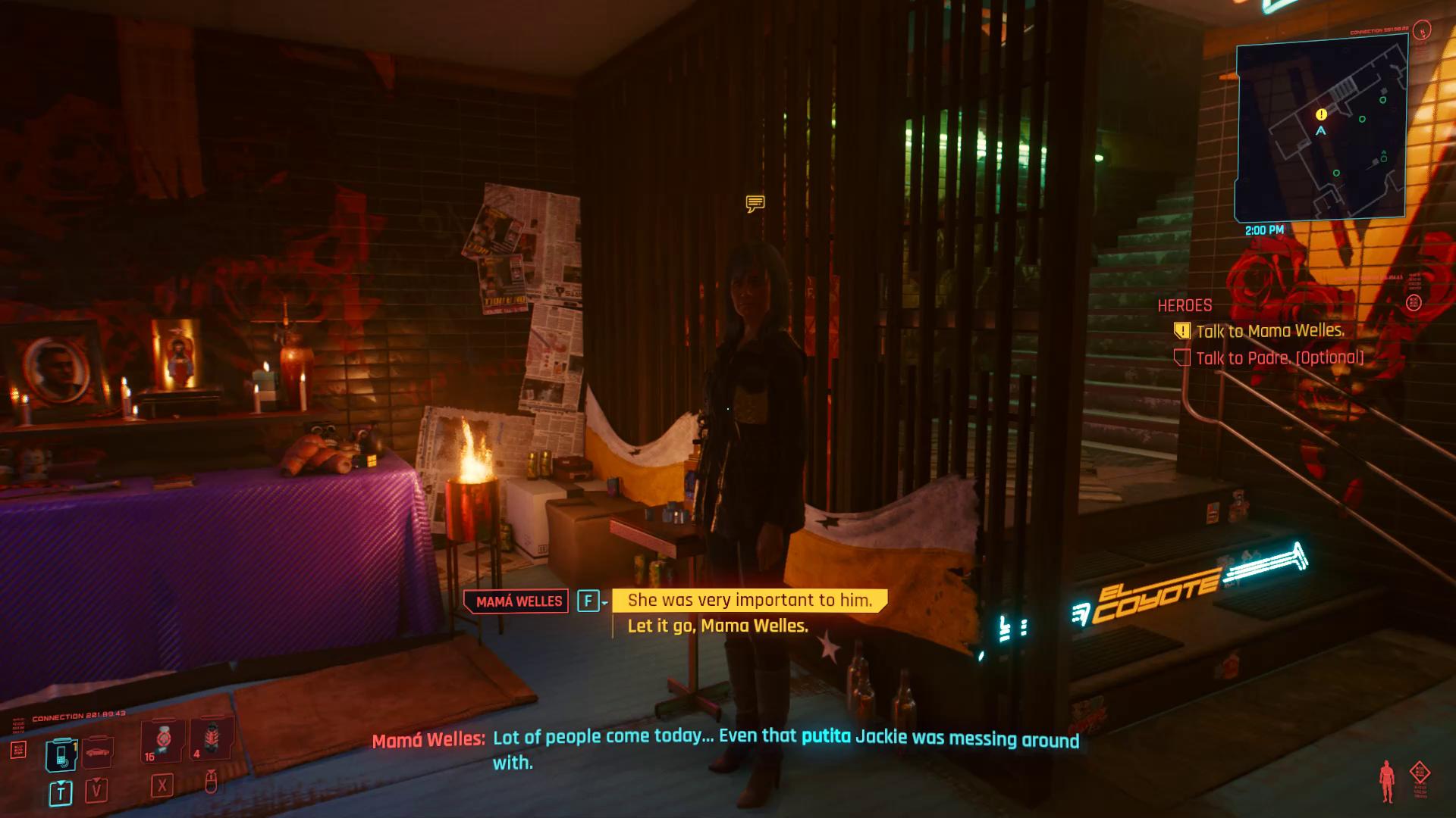 Cyberpunk 2077 Misty est important