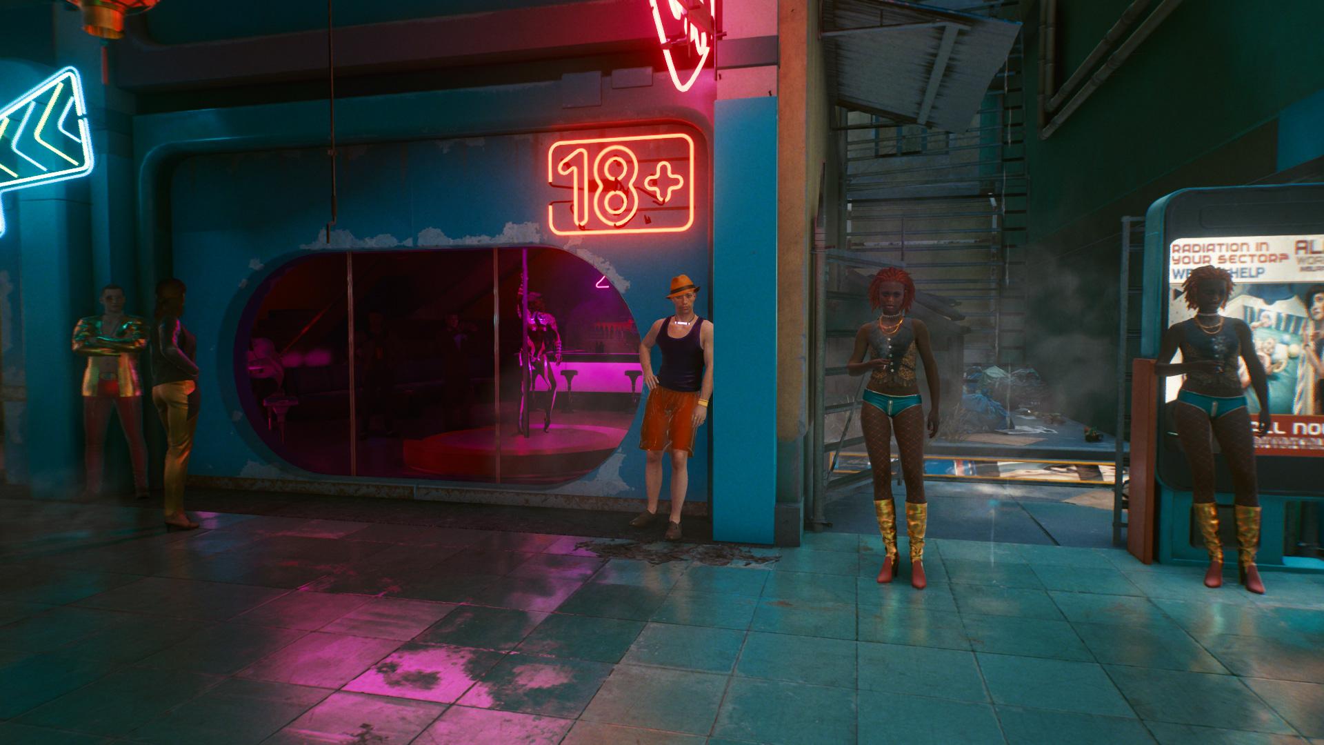 Où trouver des Joytoys dans Cyberpunk 2077 - Male Joytoy