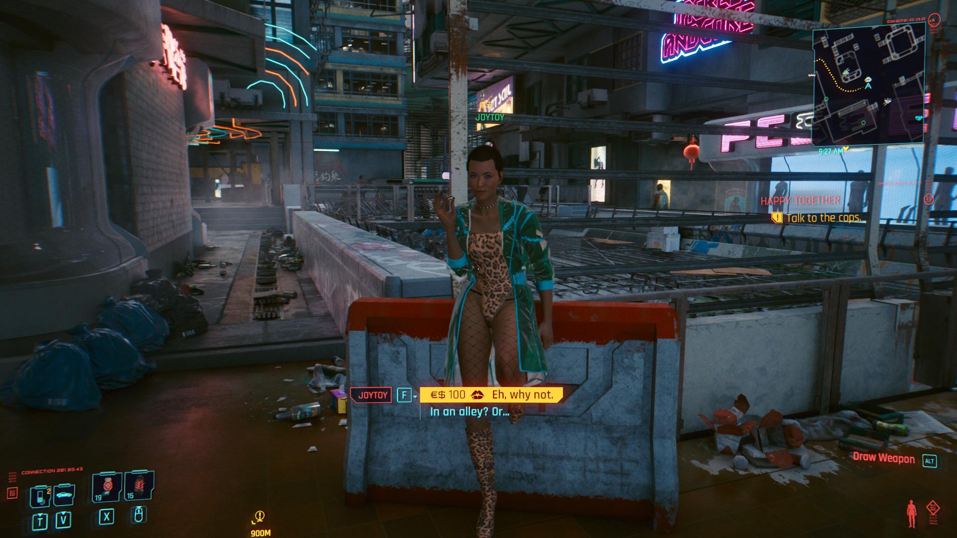Où trouver des Joytoys dans Cyberpunk 2077 - Female Joytoy