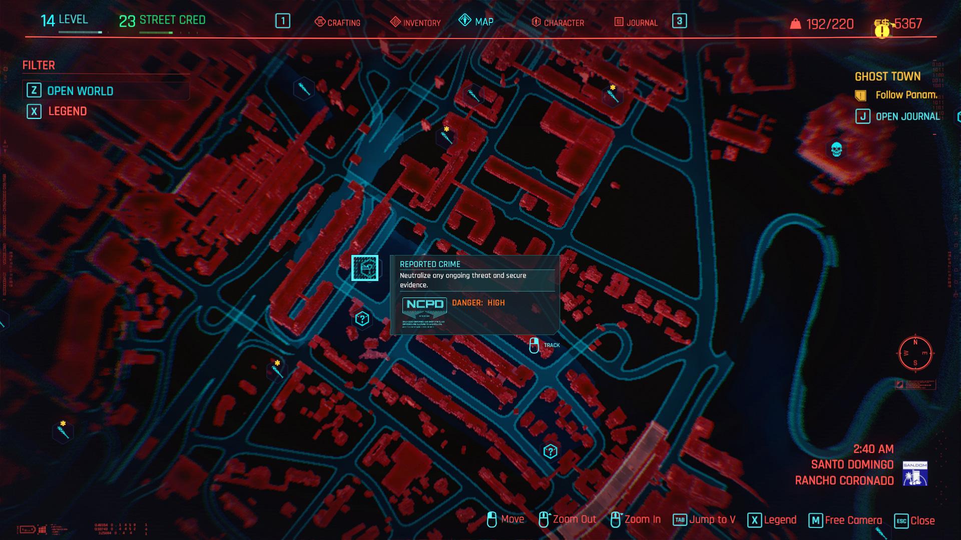Meilleures façons de gagner de l'argent dans Cyberpunk 2077 - Crime signalé