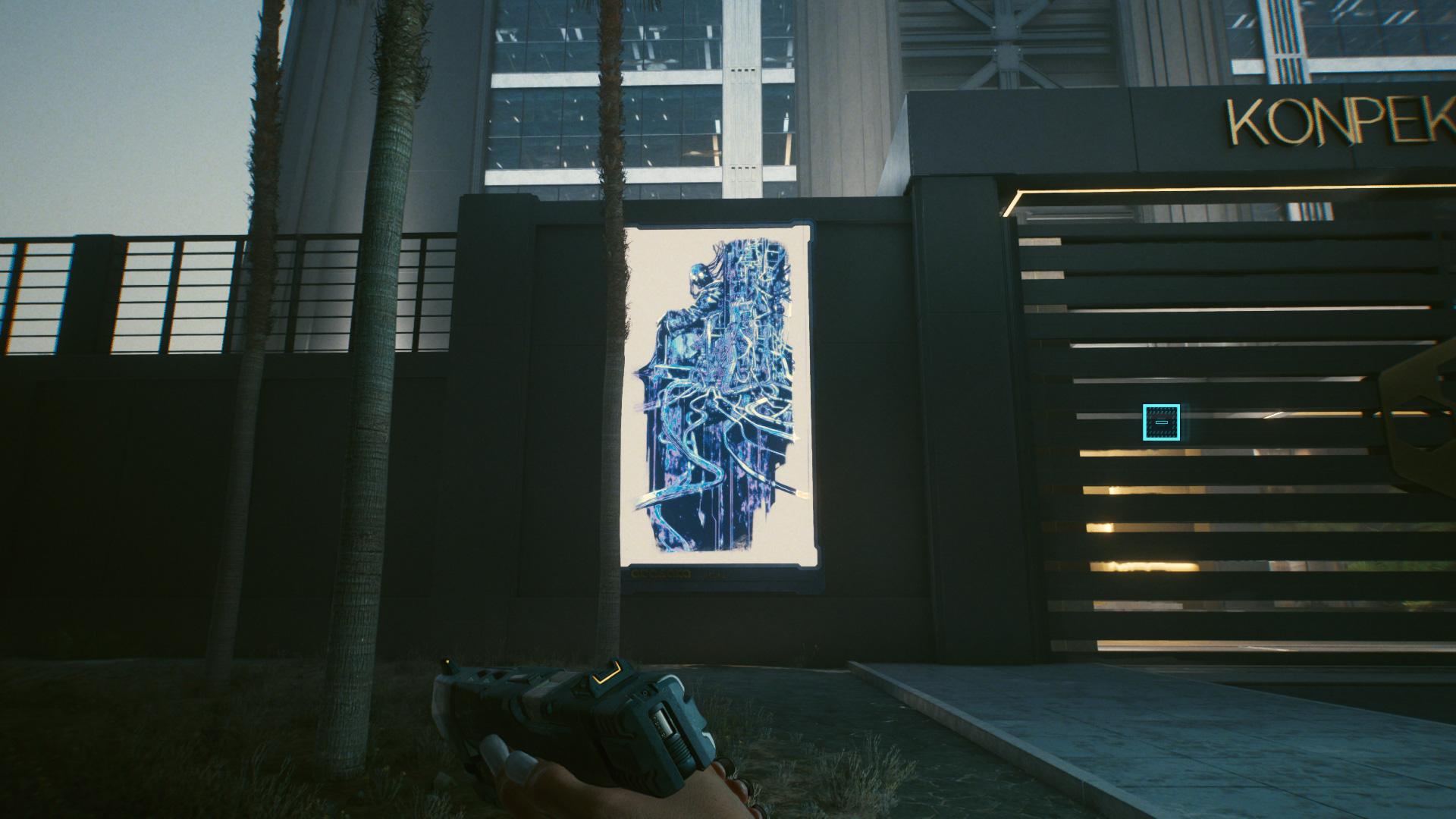 Cyberpunk 2077 Tarot Card 5 L'Empereur