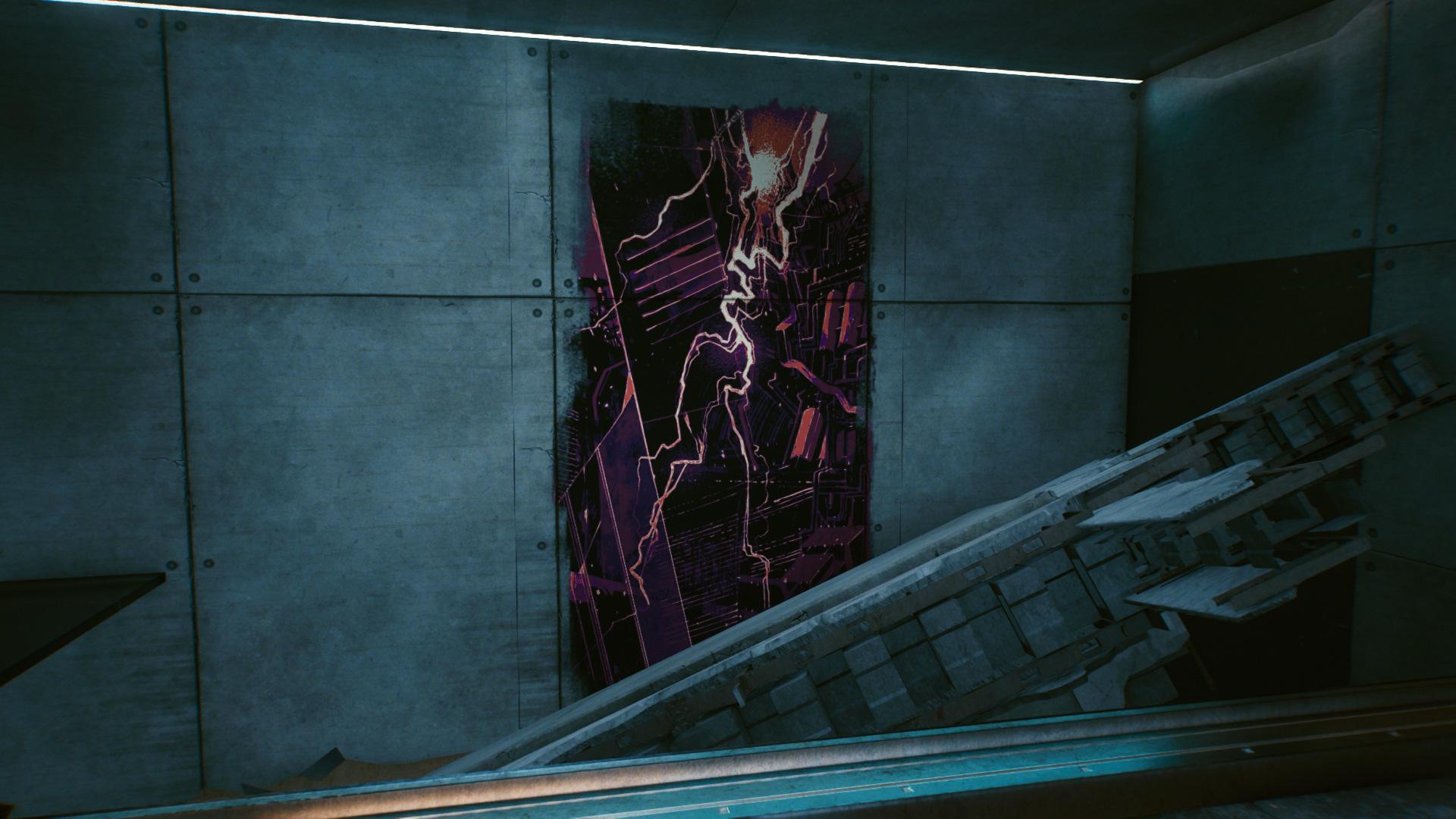 Cyberpunk 2077 Tarot Card 17 La Tour