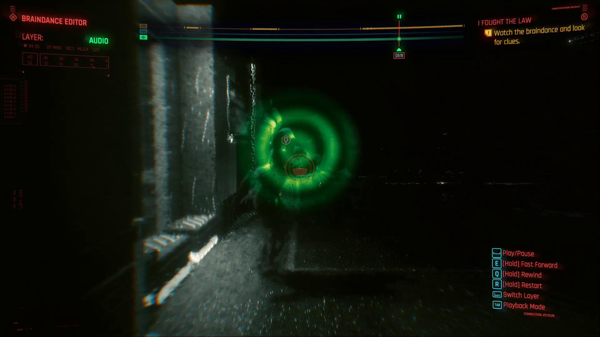 Cyberpunk 2077 Braindance Horvath Humming