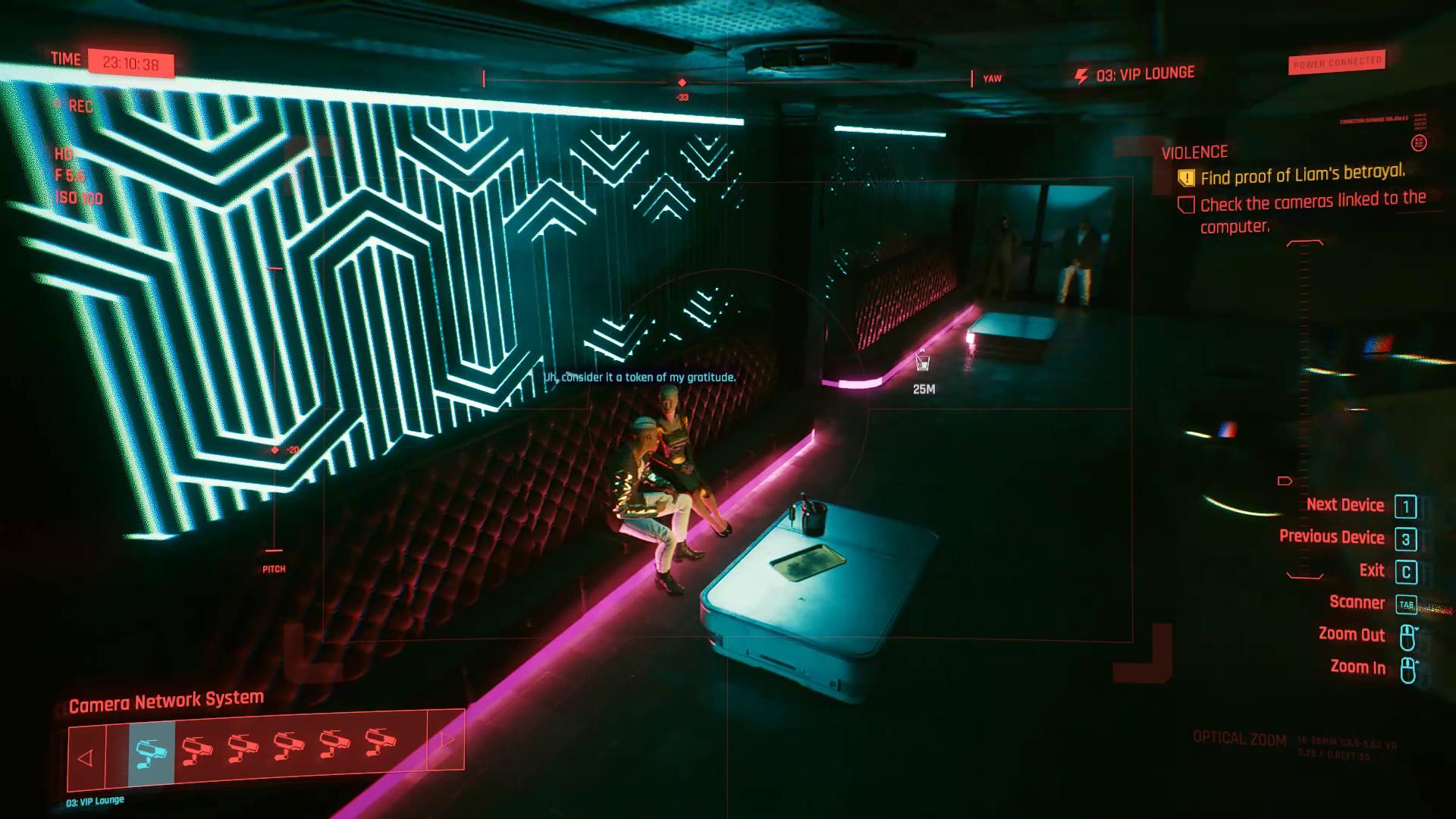 Comment trouver le Cyberpunk 2077 de la violence de trahison de Liam
