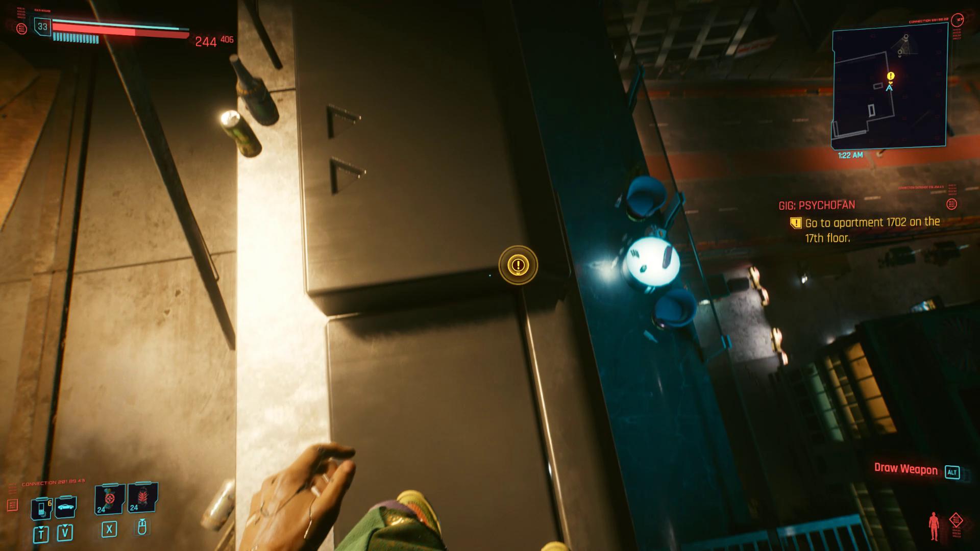 Cyberpunk 2077 Psychofan Balcon