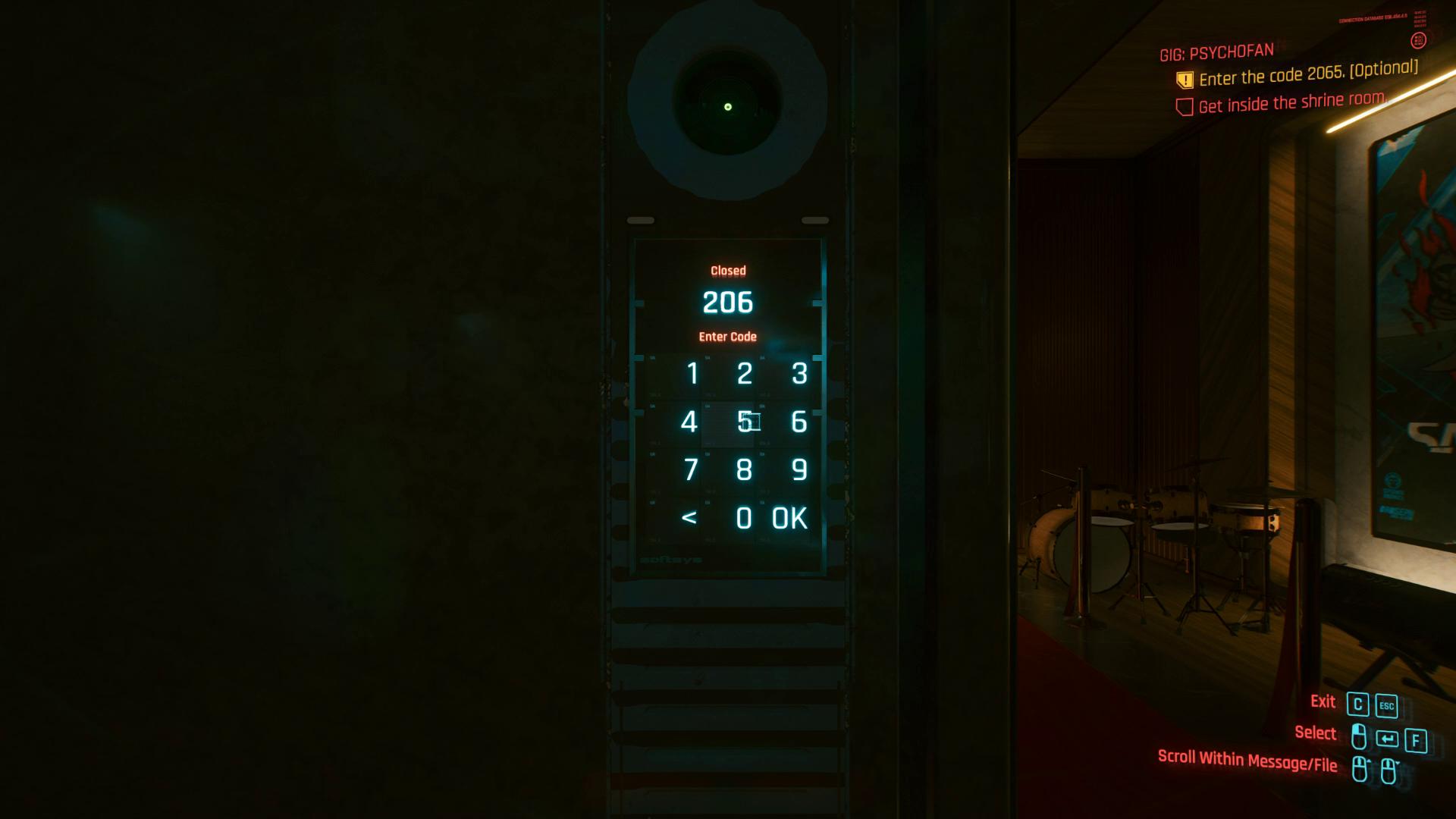 Clavier Cyberpunk 2077 Psychofan