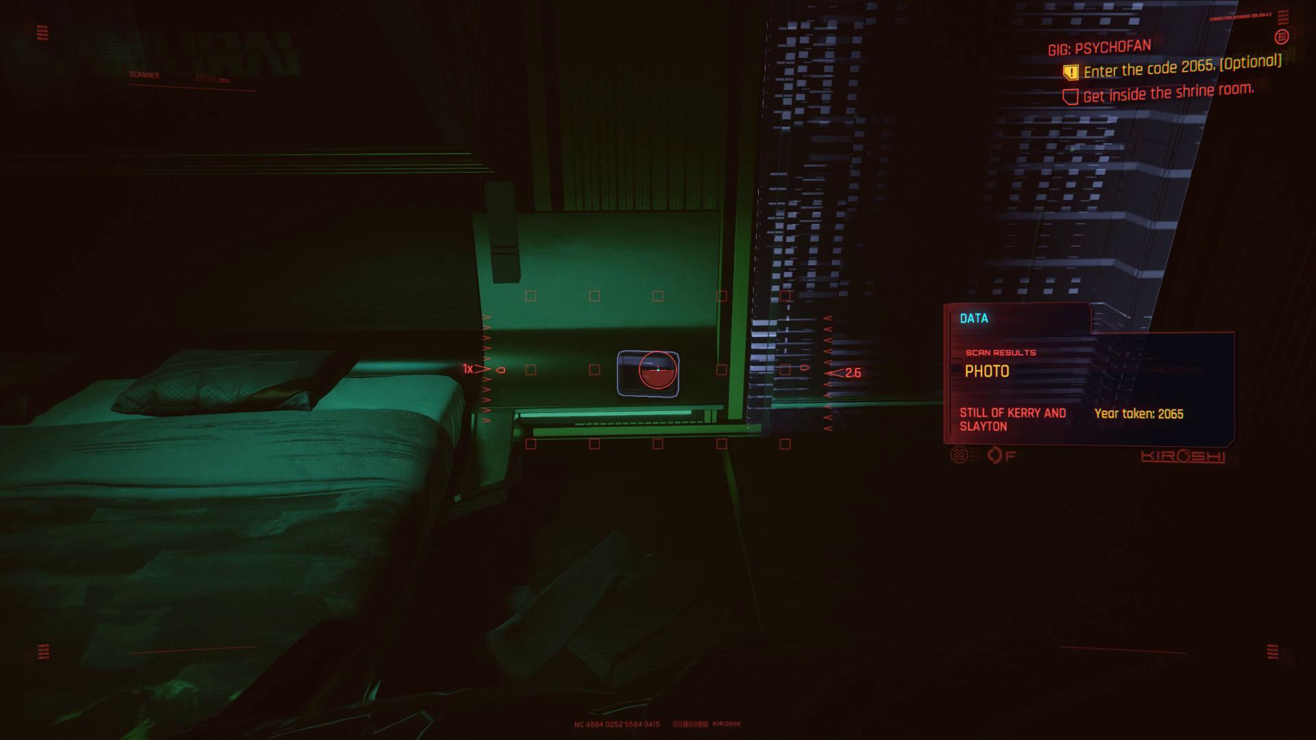 Numérisation Cyberpunk 2077 Psychofan