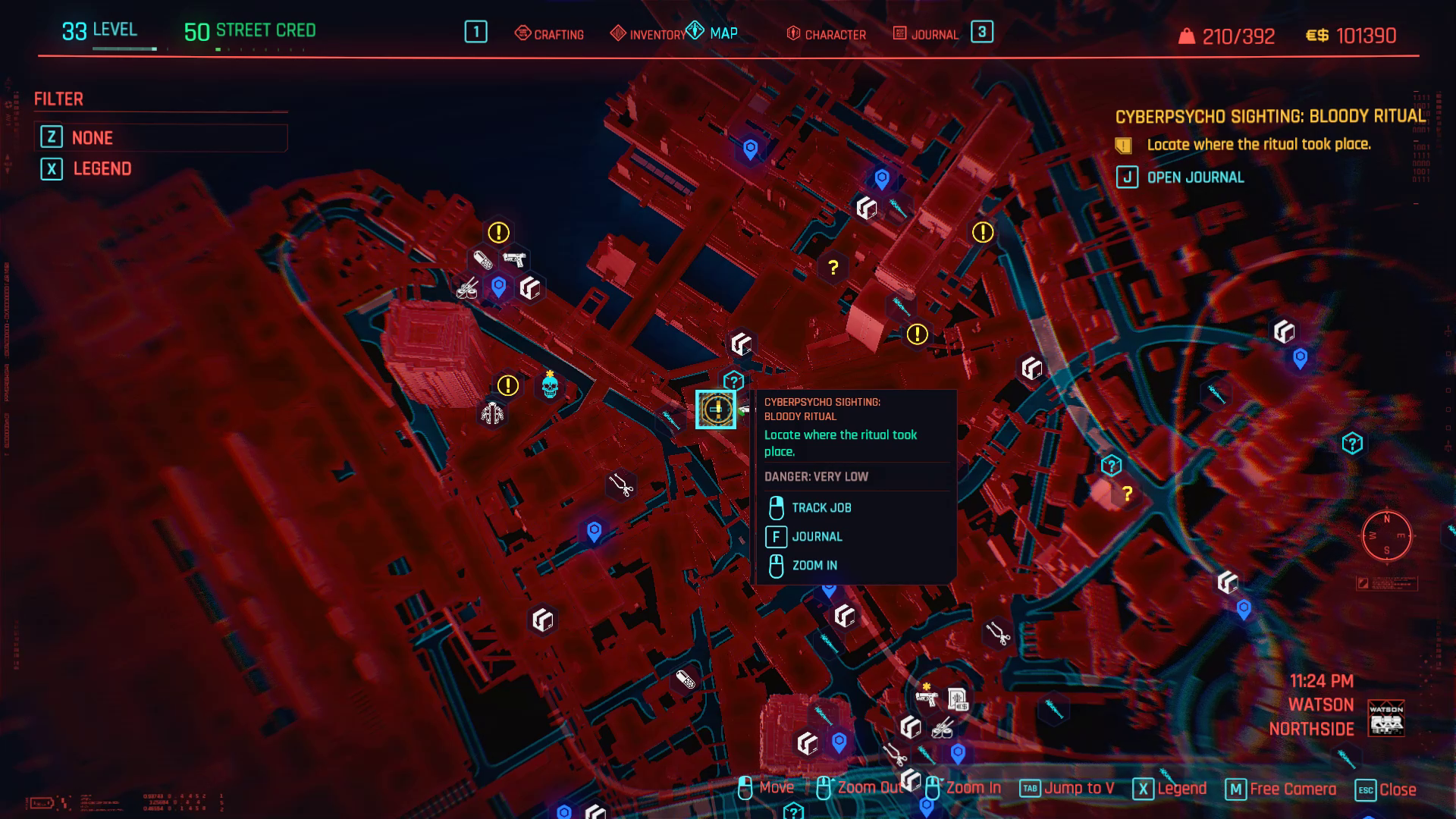 Cyberpsycho Bloody Ritual Zoom avant