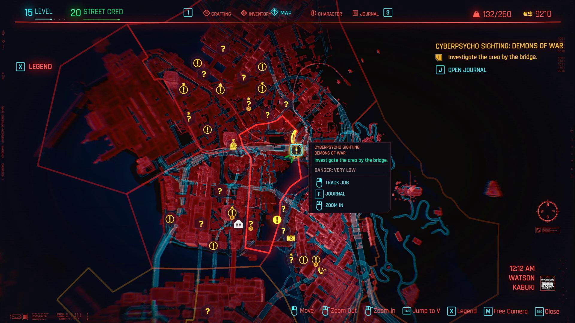 Cyberpsycho Demon War Zoom arrière