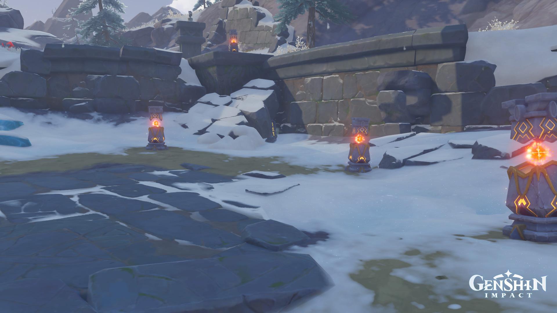 Emplacements des tablettes de pierre à Genshin Impact - 4