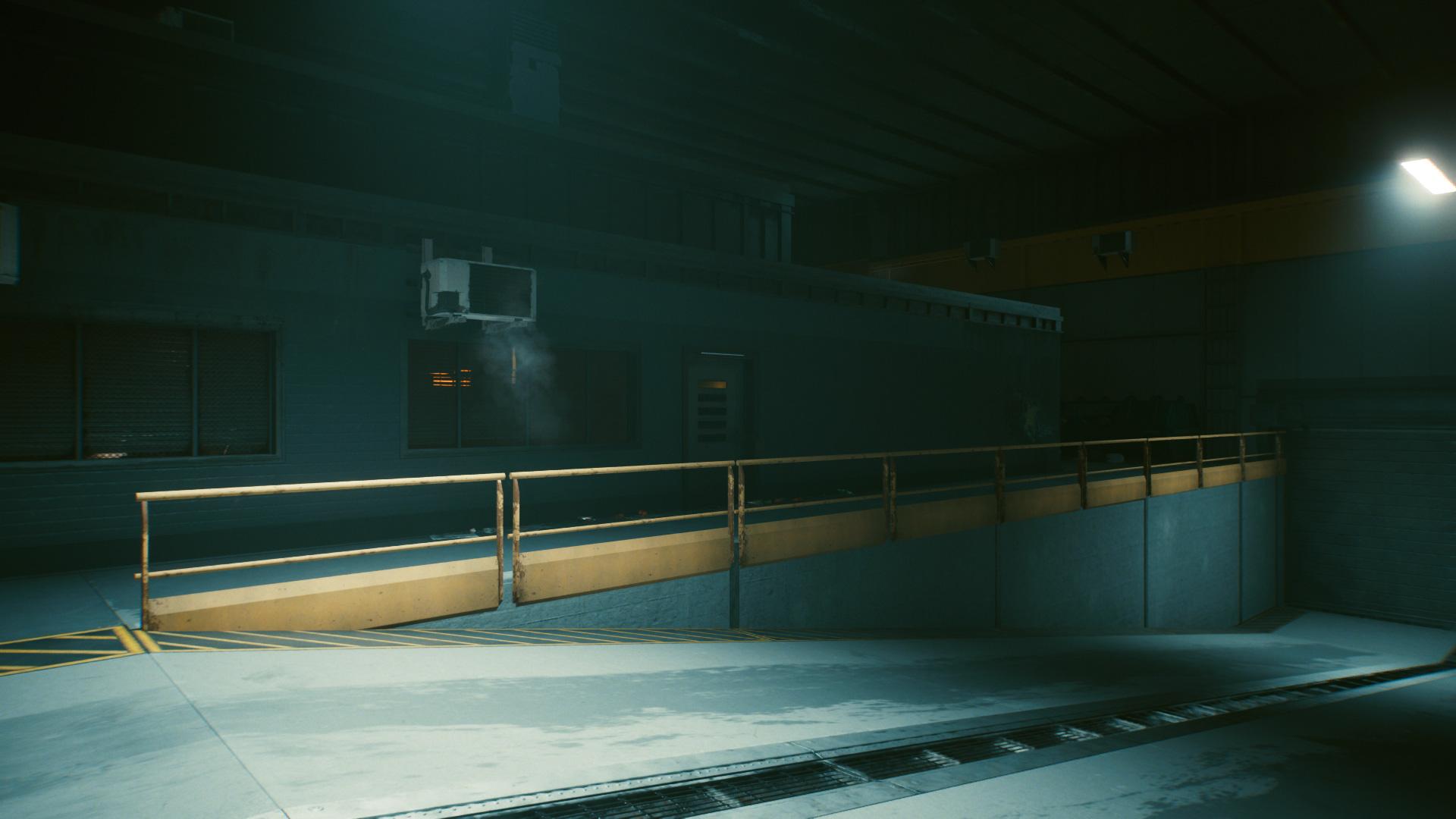 Comment se rendre au siège de Delamain dans la porte latérale Cyberpunk 2077