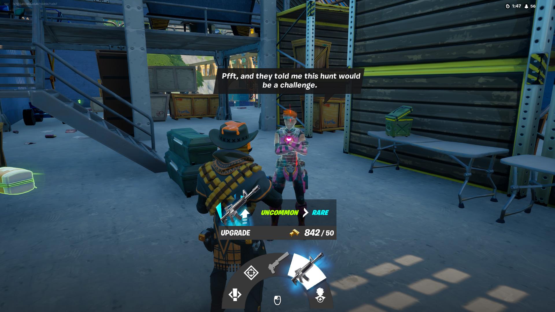 Comment améliorer les armes dans Fortnite Chapter 2 Season 5