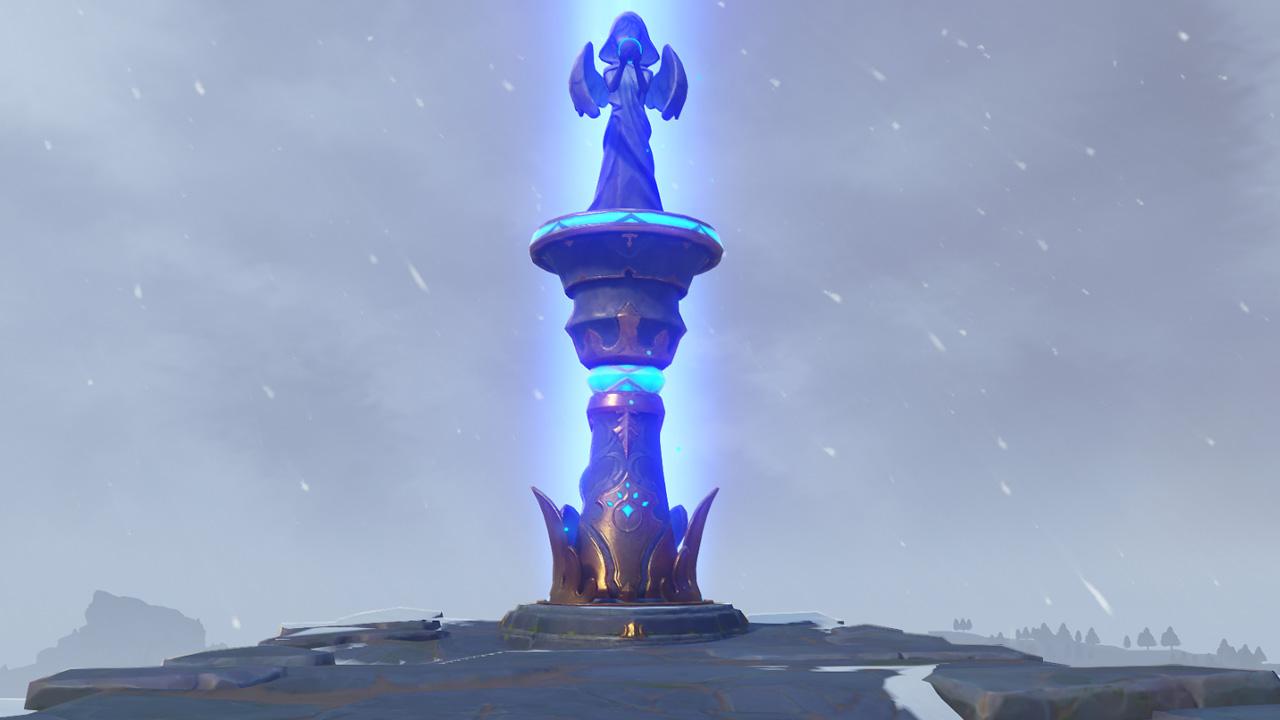Comment briser la glace et déverrouiller la statue des Sept à Dragonspine dans Genshin Impact