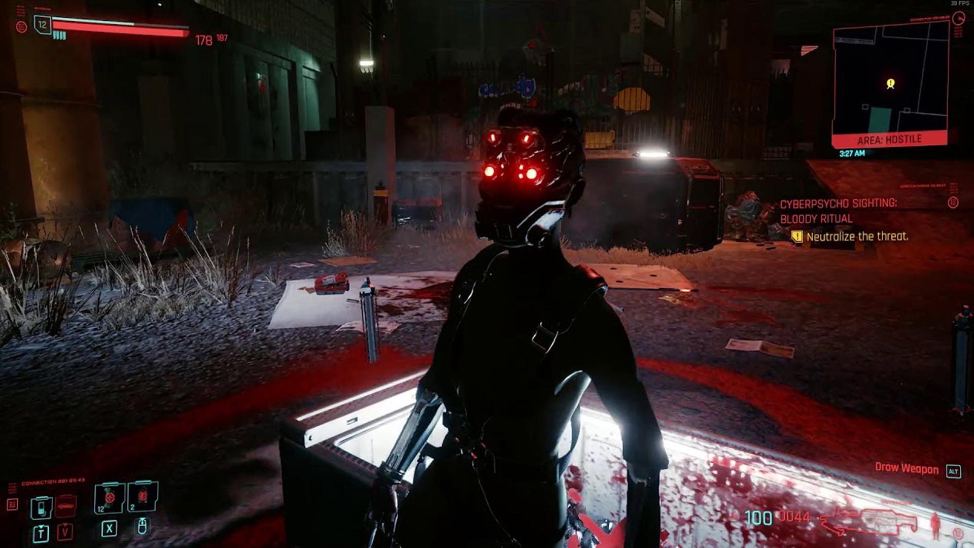 Comment casser le fragment rituel dans Cyberpunk 2077