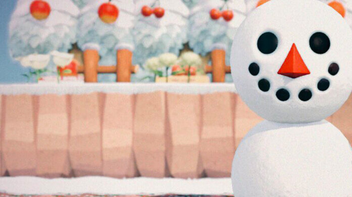 How to Build Snowfolk in Animal Crossing New Horizons