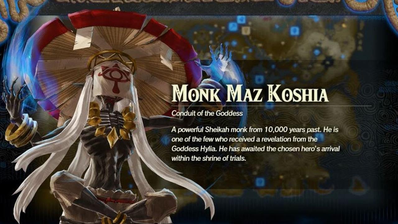 Comment débloquer le moine Maz Koshia dans Hyrule Warriors: Age of Calamity