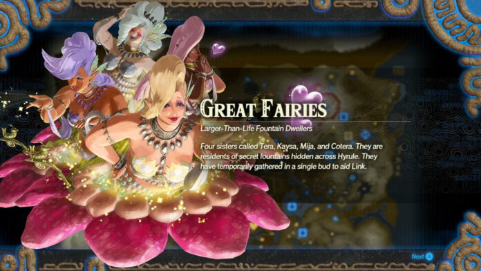 How to Unlock the Great Fairies in Hyrule Warriors: Age of Calamity