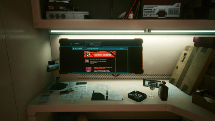 How to Investigate the Site from the Bartmoss Collective Message in Cyberpunk 2077
