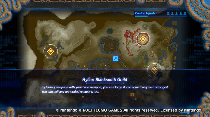 How to Fuse Weapons in Hyrule Warriors: Age of Calamity