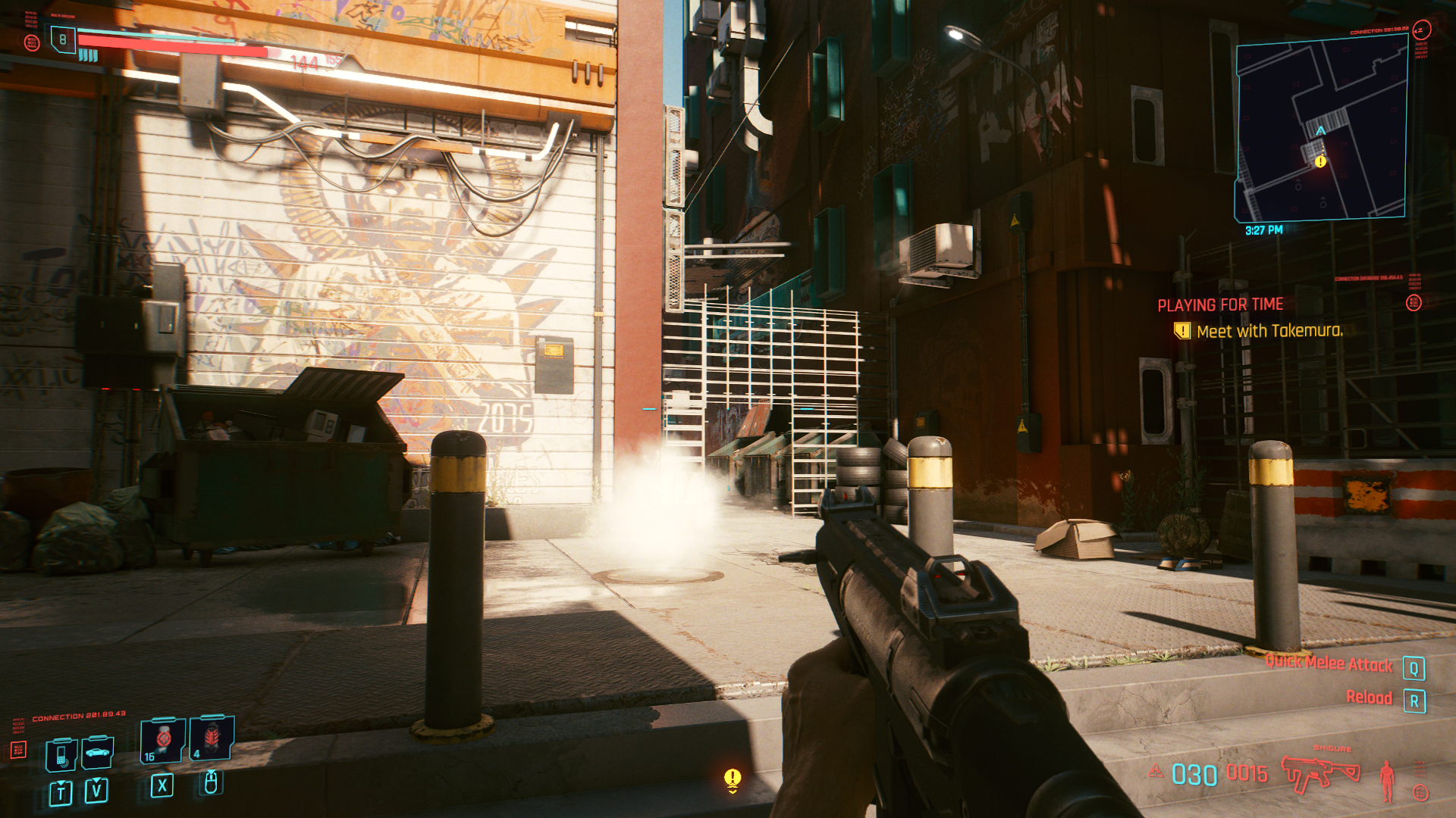 Comment obtenir plus de munitions dans Cyberpunk 2077