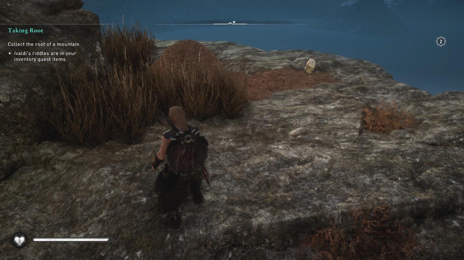 Comment récupérer la racine d'une montagne dans Assassin's Creed Valhalla