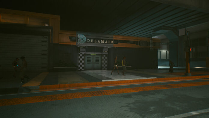 How to find a way into Delamain HQ in Cyberpunk 2077