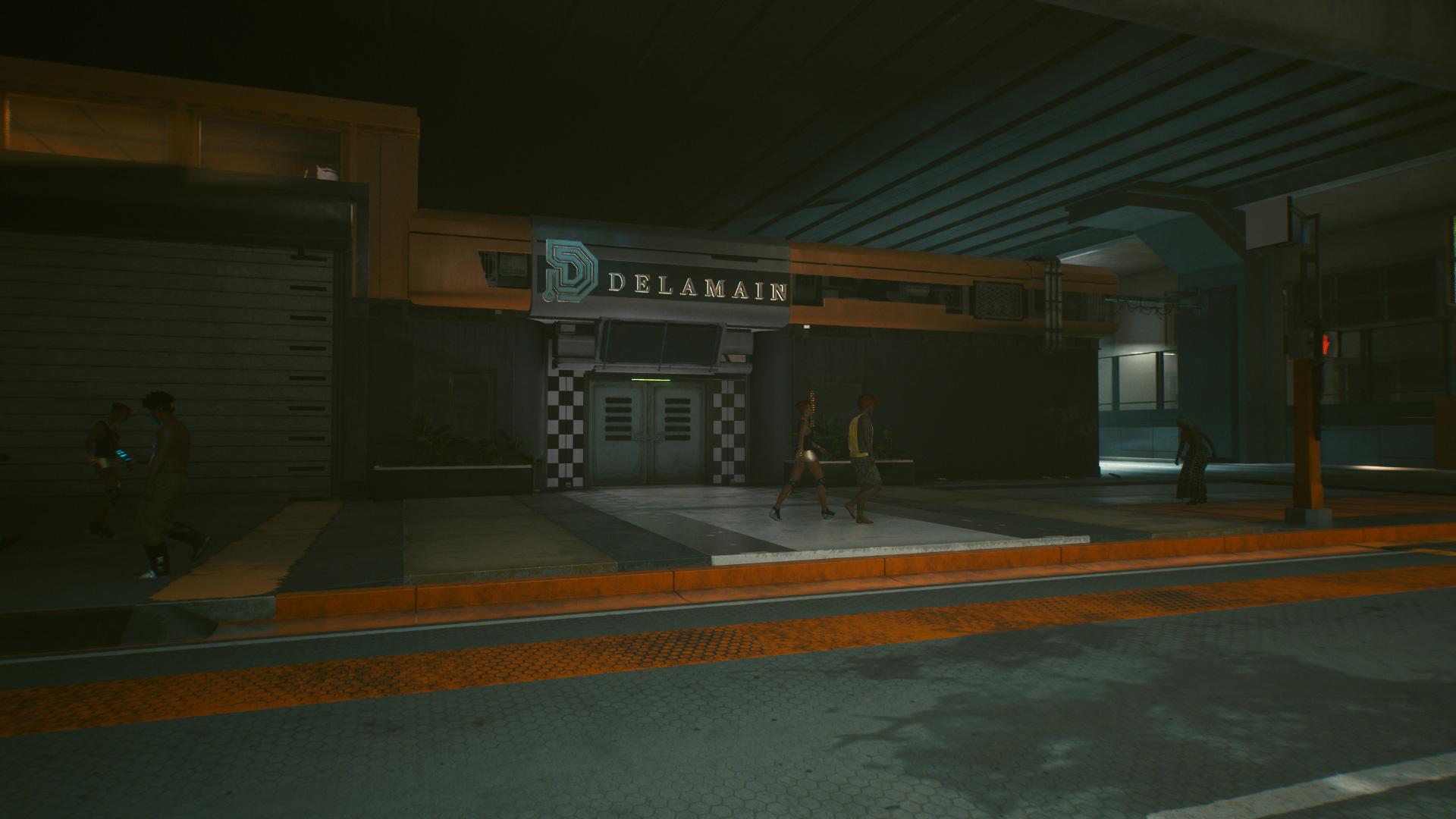 Comment trouver un moyen d'accéder au siège de Delamain dans Cyberpunk 2077