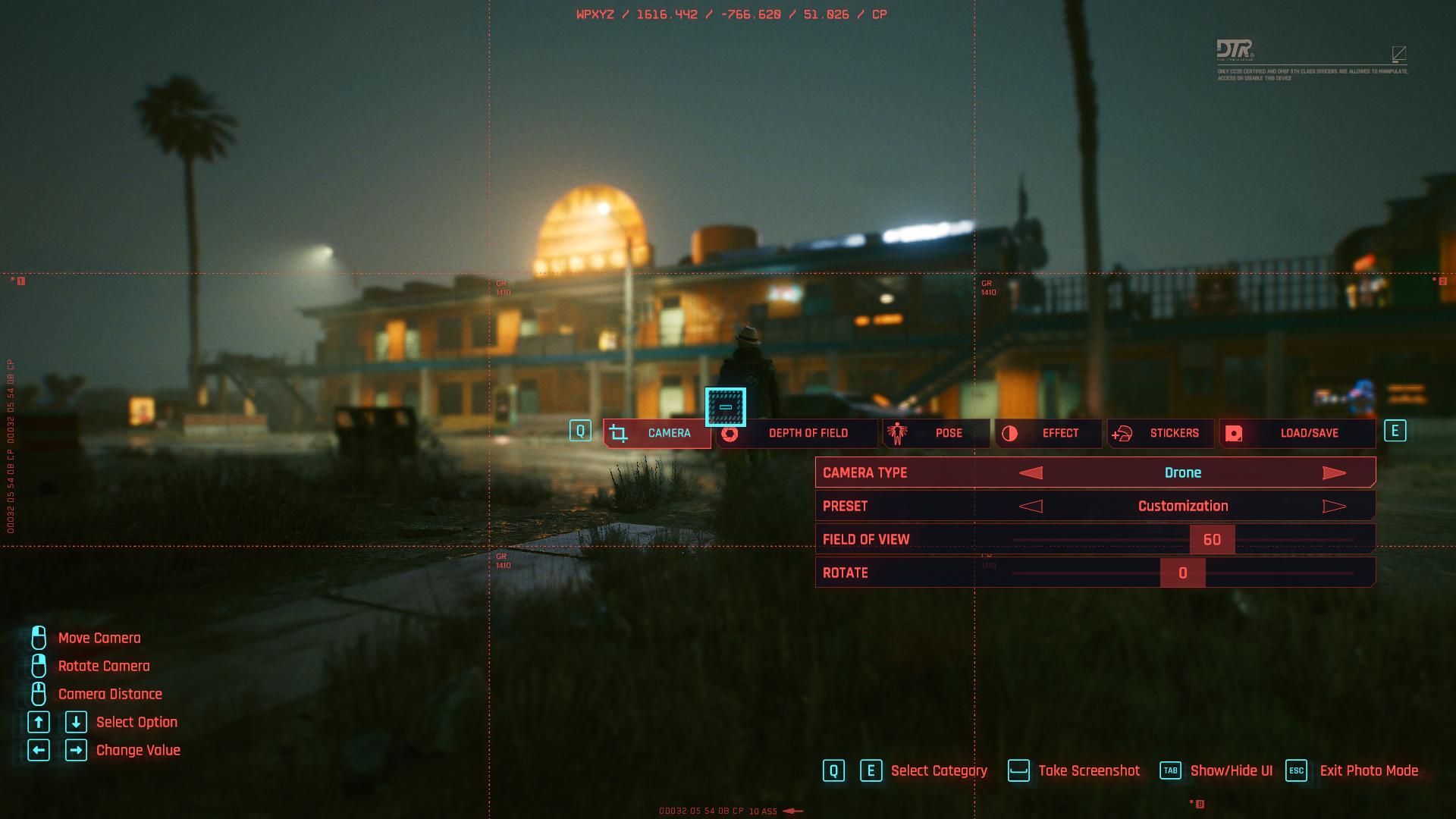 Comment utiliser le mode photo dans Cyberpunk 2077