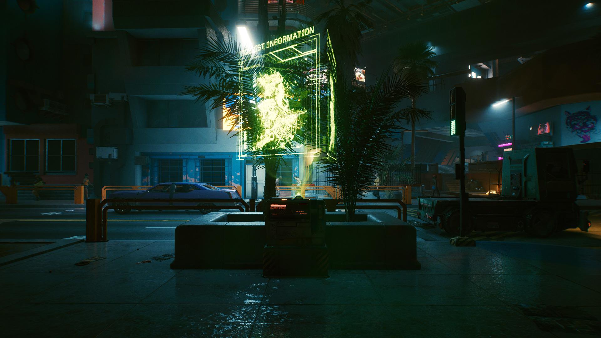 Comment voyager rapidement dans Cyberpunk 2077