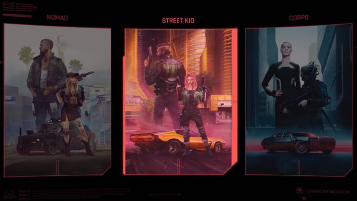 Should you choose Nomad, Streetkid, or Corpo in Cyberpunk 2077?