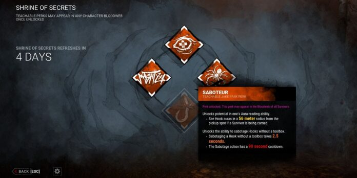 Survivors and Teachable Perks in Dead By Daylight Explained
