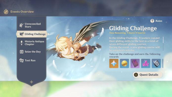 Guide du défi de glisse à impact Genshin