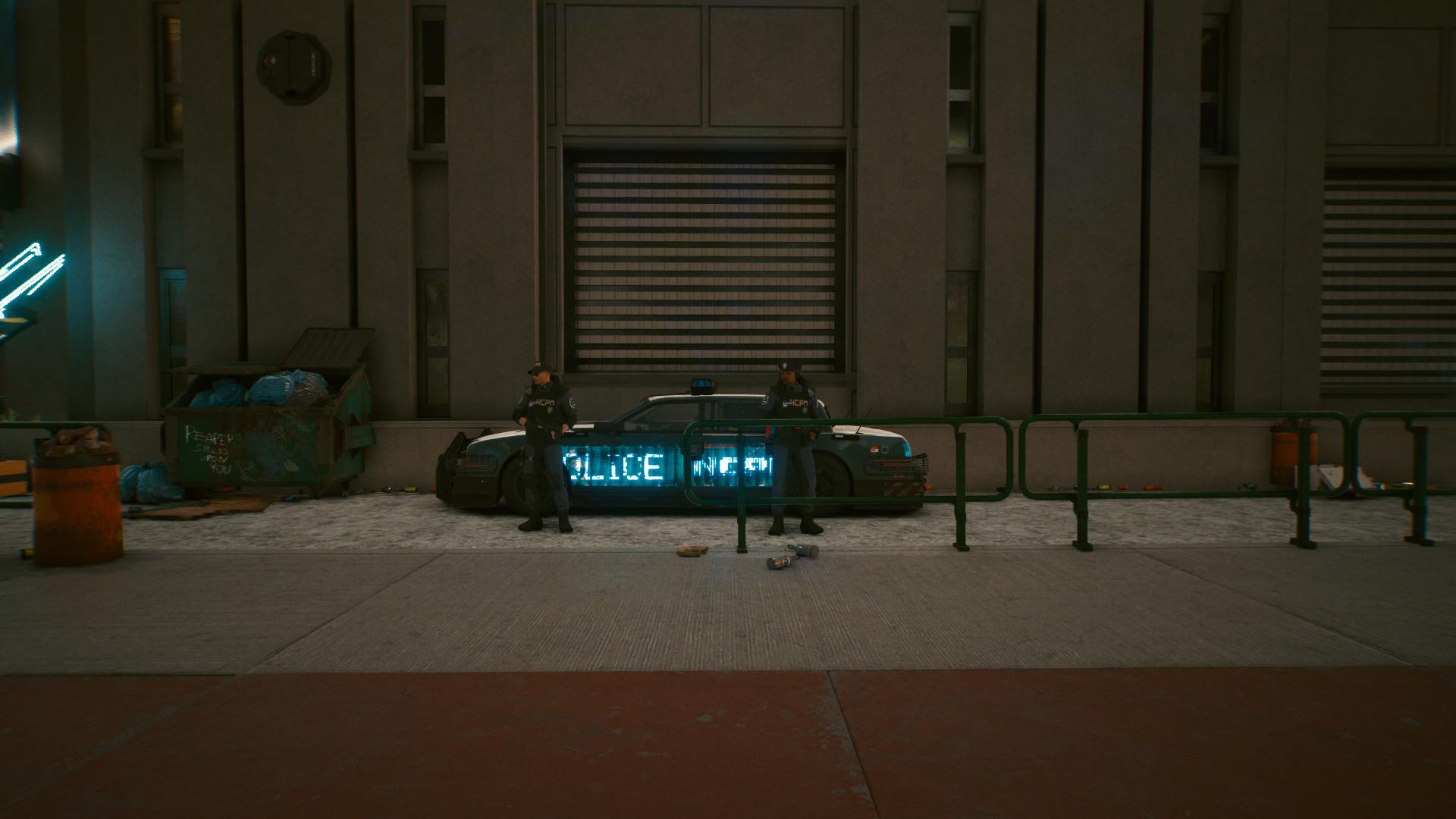 Les meilleures façons de perdre la police dans Cyberpunk 2077