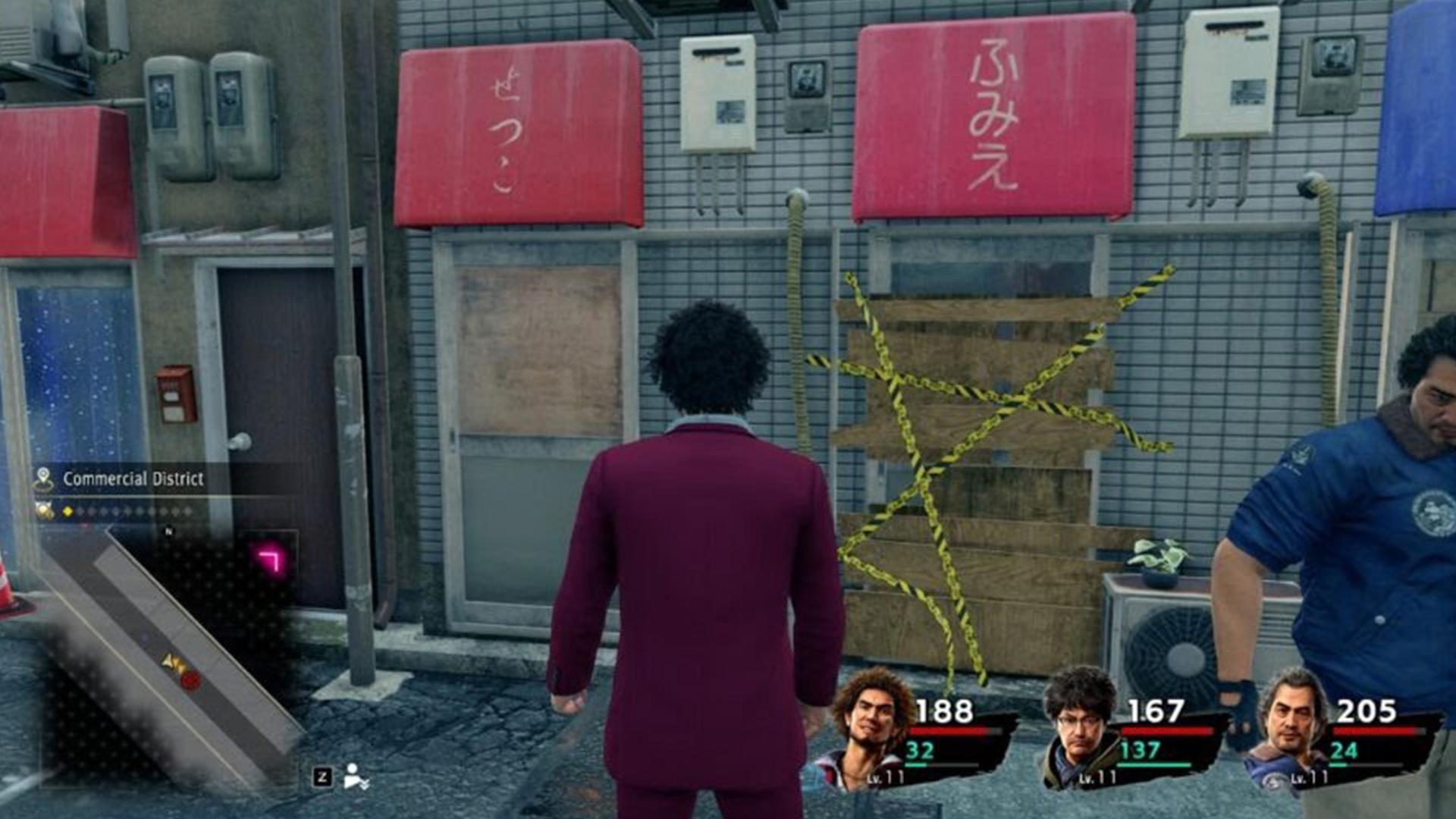 Où obtenir des clés en or à Yakuza: comme un dragon