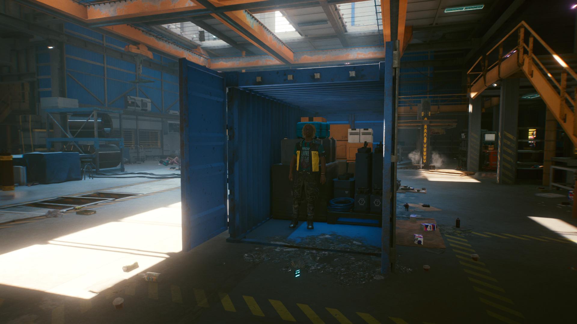 Où trouver Hal Cantos dans Occupational Hazard Gig dans Cyberpunk 2077